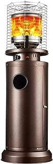 ZDYLM-Y Estufa de Terraza con Encendido por botón, tamaño Ajustable, Protección contra vuelcos, Protección contra la hipoxia