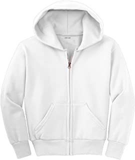 Youth Full-Zip Hooded Sweatshirts in 22 Colors