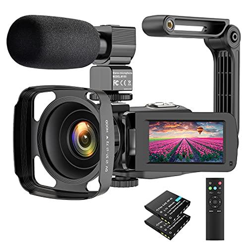 Camcorder 2.7K Video Camera 36MP UHD IR Night Vision Digital Camcorder 16X...