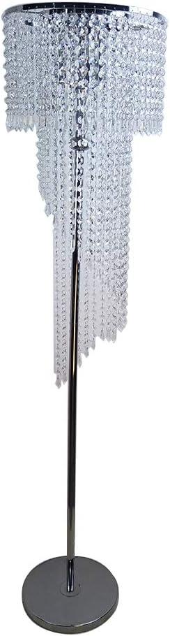 Hsyile Lighting KU300160 Modern Style Super intense SALE a OFFer Finish Floor Lamp Chrome
