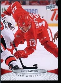 Upper Deck 2011/12 Hockey Card #387 Pavel Datsyuk