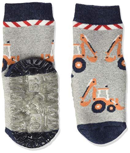Sterntaler Baby Jungen Sterntaler Glitzer-flitzer Air Sterne Socks, Hellgrau Mel., 20 EU