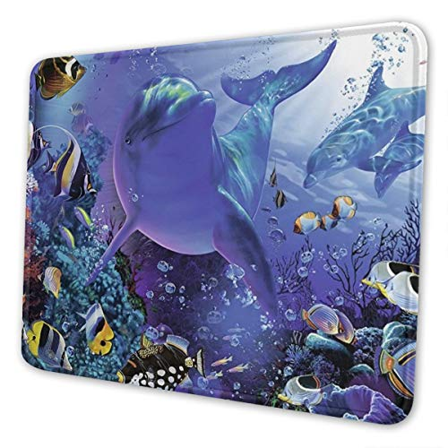 Underwater Multi-Size Gaming Mouse Pads for Adults and Children are Suitable for Office, Gaming, and Learning 10 X 12 Inch