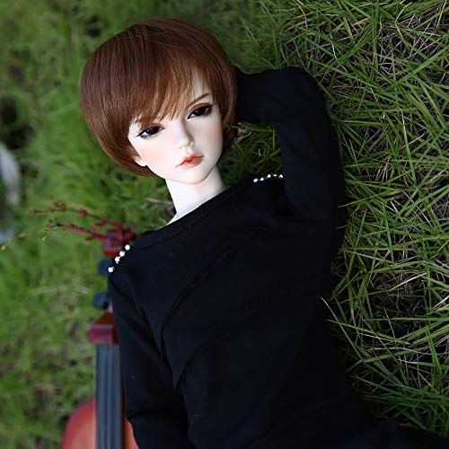 Original Design 18 Inch BJD Doll 1/4 SD Dolls 19 Ball Jointed Doll DIY Toy with Full Set Clothes Shoes Wig Makeup Cosplay Fashion Dolls Best Gift for Child