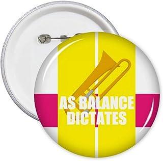 Lot de 5 pin's Game As Balance Dictates Art Déco Cadeau Mode Badge Badge Emblème Accessoire Décoration