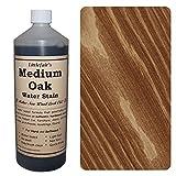 Tinte para madera a base de agua de Littlefair?s, respetuoso con el medio ambiente, Roble medio., 500 ml