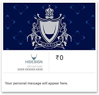 Flat 10% off at checkout  Hidesign E-Gift Card