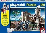 Schmidt Spiele Playmobil: Kampf um den Königsschatz Puzzle - Rompecabezas (Puzzle Rompecabezas, Juguete, Niños, Playmobil, Niño, 8 año(s))