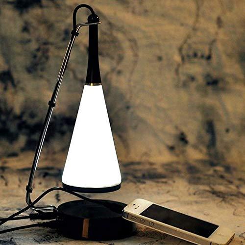 Música Lámpara De Mesa, Multi-función Bluetooth LED De Luz Del Escritorio Creativo, USB Táctil Sin Escalonamiento Atenuación, Carga Del Aprendizaje De La Lectura De Iluminación Decorativa Night Lights