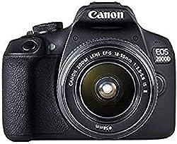 Canon EOS 2000D Kit 18-55mm IS II Spiegelreflexkamera