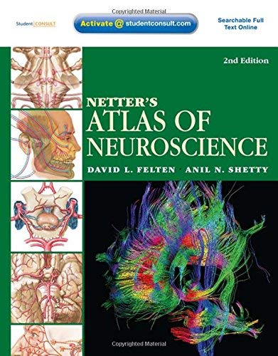 Netters Atlas Of Neuroscience With Student Consult Online Access 2e Netter Basic Science 2nd Second Edition By Felten Md Phd David L Shetty Phd Anil Published By Saunders 2009 Paperback