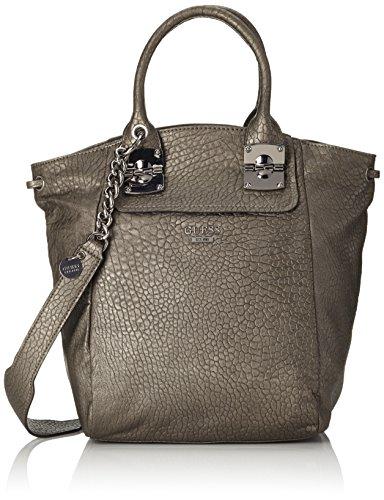 Guess Damen Tasche, Grau (Grau Metalizado), Einheitsgröße
