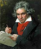 A4 Photo Stieler Joseph Karl 1781 1858 The Art of Music
