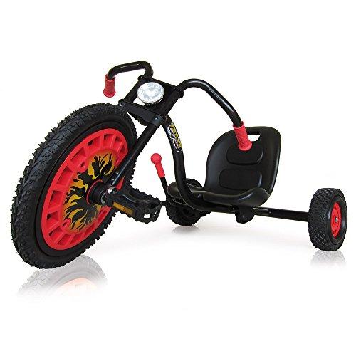 Hauck T92002 Typhoon - Triciclo, color rojo y negro