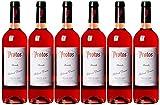 Protos - Vino Rosado - Pack de 6 botellas x 75 cl