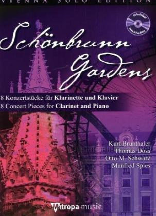 Schönbrunn Gardens, für Klarinette und Klavier, m. Audio-CD