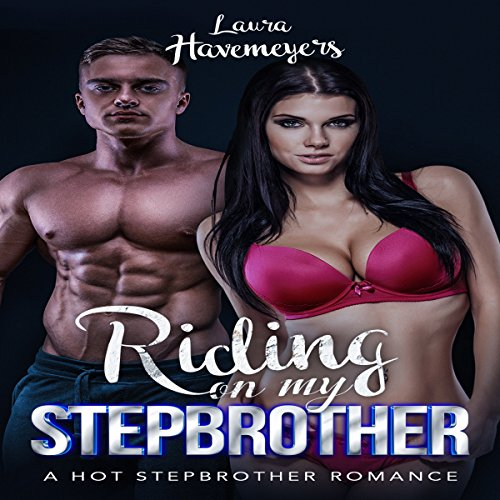 Riding on my Stepbrother audiobook cover art