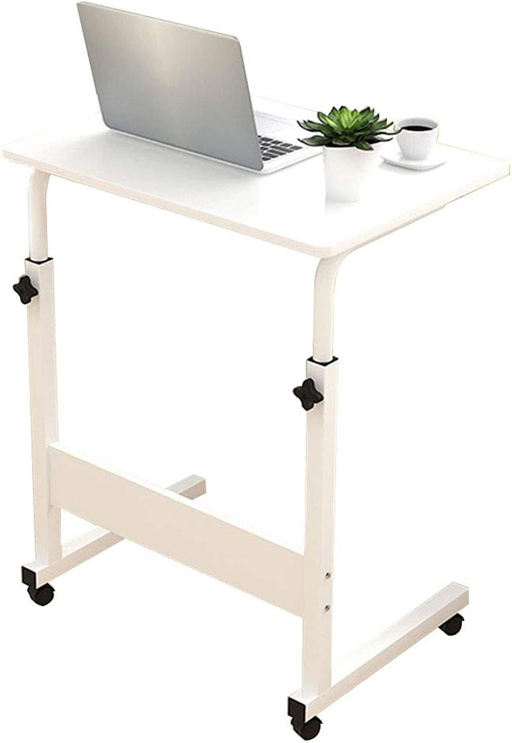 Coffee Table Simple Movable Lifting Stand up Desk, Multifunction Bedside Table Student Dormitory Lazy Computer Desk, 2 Sizes (Size   60  40 cm)
