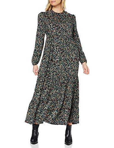 Superdry Skylar Maxi Dress Vestido Casual, Margarita de otoño, M (Talla del Fabricante:12) para Mujer