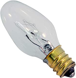 (50-Pack) Litepak C7 Light Bulbs Clear 120V 4W E12 Candelabra Base 4 Watt
