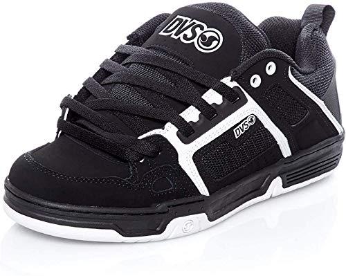 DVS Men's Comanche Black/White Skateboarding Shoes 6.5 M US