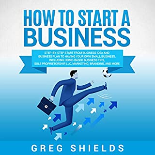 How to Start a Business audiobook cover art