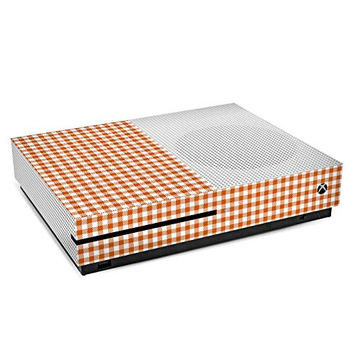 Skin kompatibel mit Microsoft Xbox One S Aufkleber Folie Sticker Karo Picknick Decke