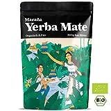 Maraña Bio Yerba Mate Tee Grün  500g lose Blätter  Natürlicher Wachmacher und Energy Booster mit...