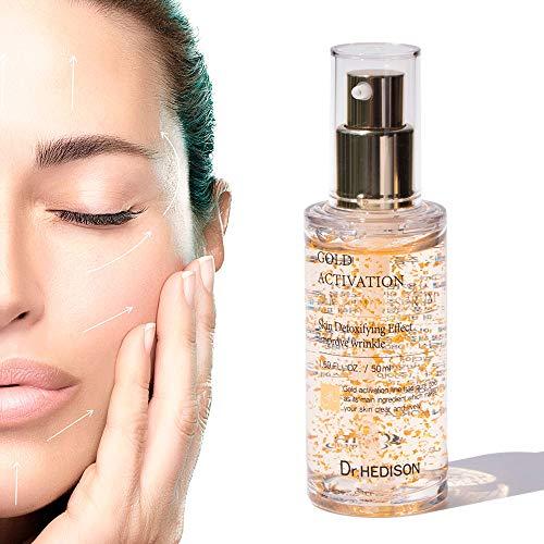 DR.HEDISON Gold Activation Serum Facial, Ácido Hialurónico - 50 ml