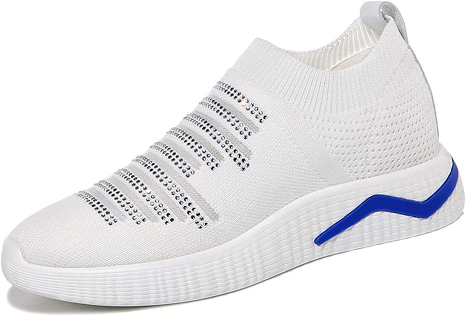 Women's Spring Fashion Small White shoes, Soft and Comfortable Breathable Lazy Casual shoes