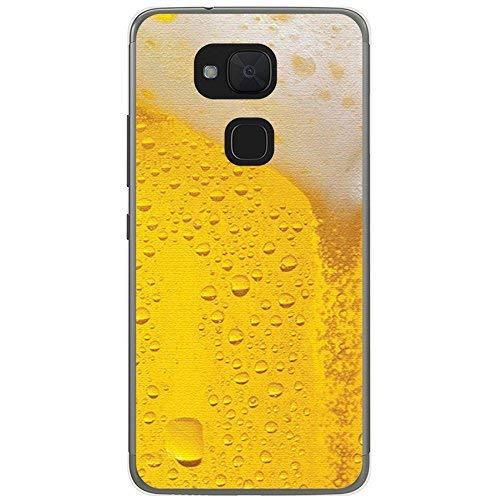 Tum&osmartphone Hülle Gel- TPU Hülle Für bq aquaris V/Vs Design Muster - Bier