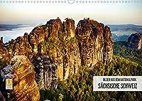 Bilder aus dem Nationalpark Saechsische Schweiz (Wandkalender 2022 DIN A3 quer): Traumlandschaft Nationalpark Saechsische Schweiz (Monatskalender, 14 Seiten )