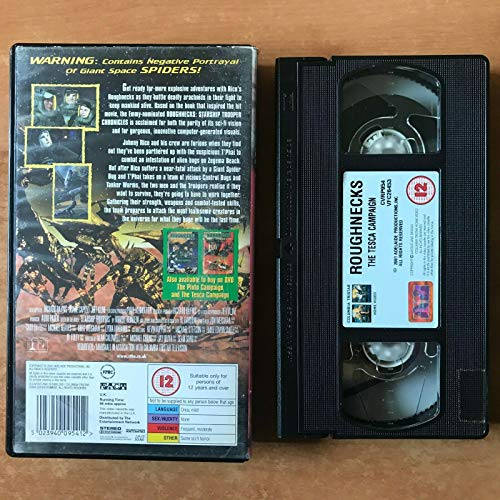 Roughnecks - Starship Troopers Chronicles: The Tesca Campaign [VHS]