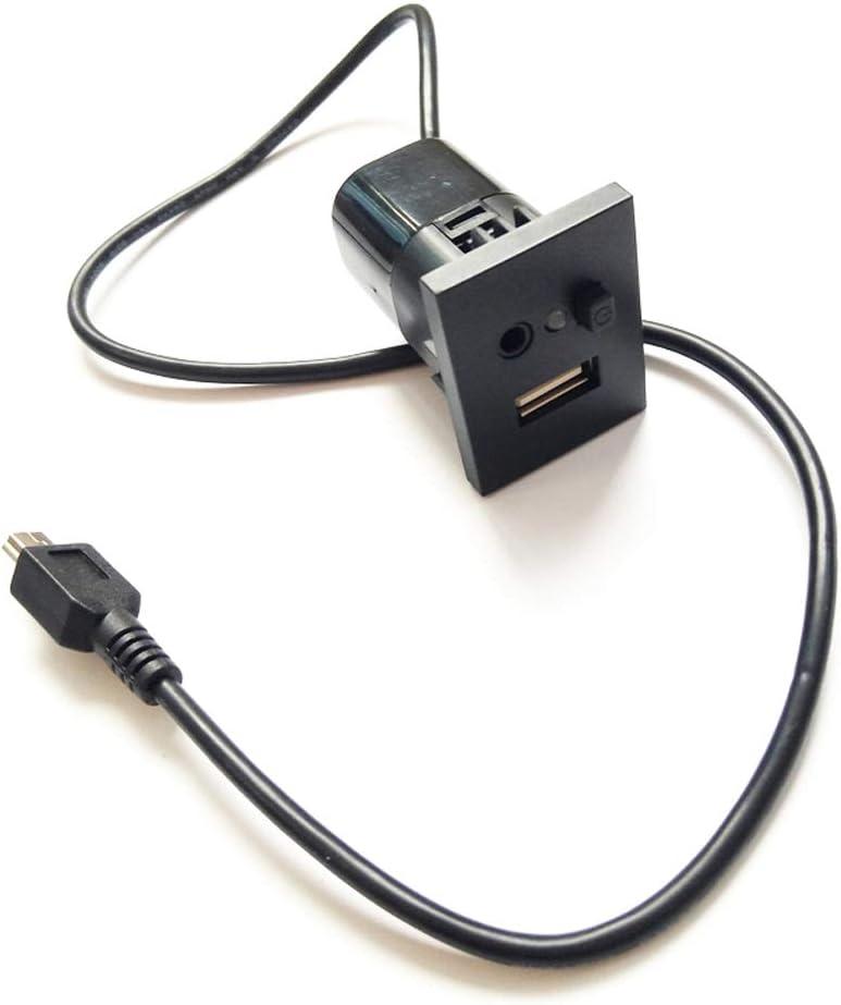 Auto Usb Anschluss Aux Anschlussstecker Kabel Passt Für Elektronik