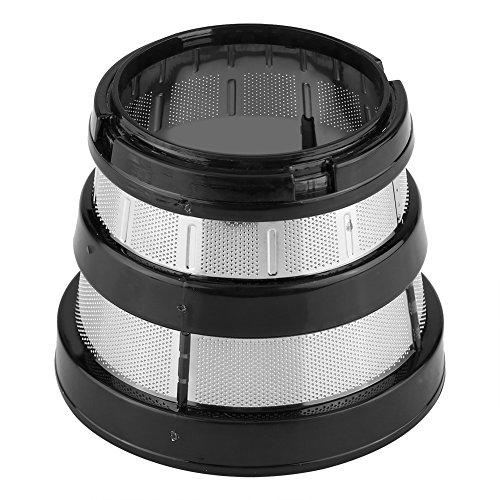 Filtro de exprimidor, filtro de exprimidor de malla, exprimidor lento, filtro de malla fina, filtro de colador, orificio pequeño para piezas Hurom HH-SBF11 HU-19SGM
