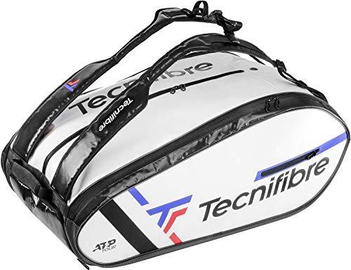 Tecnifibre ATP Tour Endurance 15R - Bolsa de Tenis Unisex, Color Blanco, para 15...