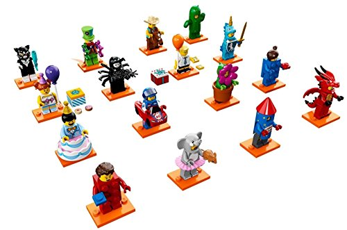 LEGO Series 18 Costume Collectible Minifigures - Set of 16 Minifigures SEALED (71021)