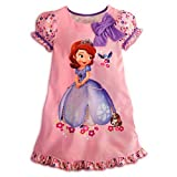 Disney Junior Princess Sofia The First Nightshirt Nightgown Pajama [ 10 ] L Large
