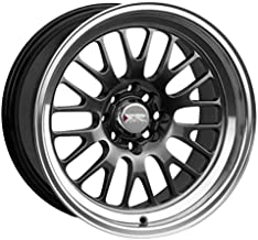 XXR Wheels 531 Chromium Black Wheel with Machined Finish Lip (18 x 8.5 inches /5 x 100 mm, 20 mm Offset)