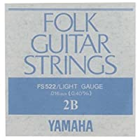 YAMAHA FS522 アコースティックギター用 バラ弦 2弦×2本