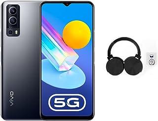 جوال فيفو واي 72 شبكة 5G ثنائي شرائح الاتصال، سعة 128GB، ذاكرة RAM 8GB، لون اسود مع هدية