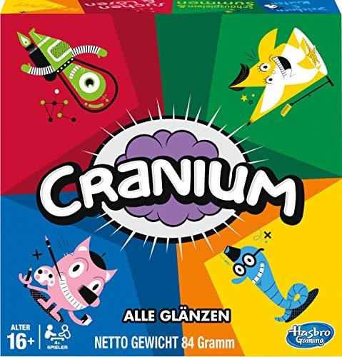 Hasbro Gaming Cranium, klassisches Brettspiel in Neuer Ausstattung, für 4 und mehr Spieler ab 16 Jahren