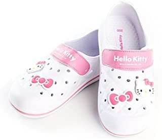 Hello Kitty YOMI Lovely Kids Casual Shoes for Girls Clogs House Pool White US Size 3
