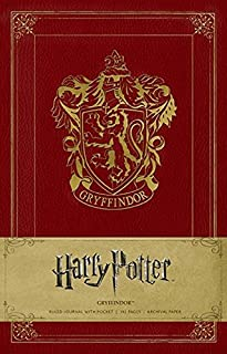 Harry Potter Gryffindor Hardcover Ruled Journal (Insights Journals)