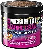 MICROBE-LIFT Marine Gran alimento completo para todos los peces de cualquier acuario de agua salada, 250 ml / 120 g