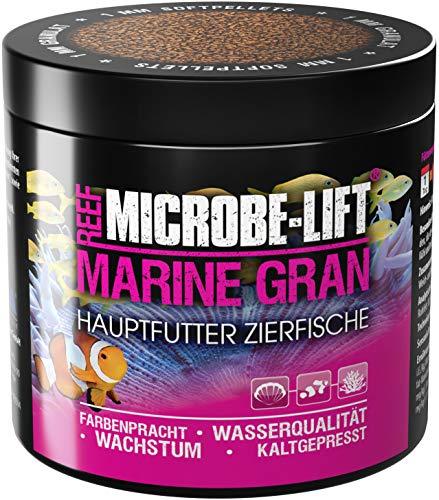 MICROBE-LIFT Marine Gran - Alleinfutter für alle Fische in jedem Meerwasser Aquarium 250ml / 120g