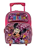 Minnie Mouse Girl's 12' Roller/Rolling Small Backpack