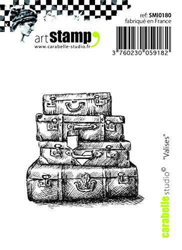 Carabelle Studio Suitcases Cling Sello Mini, Caucho, 5.0x6.0x0.5 cm