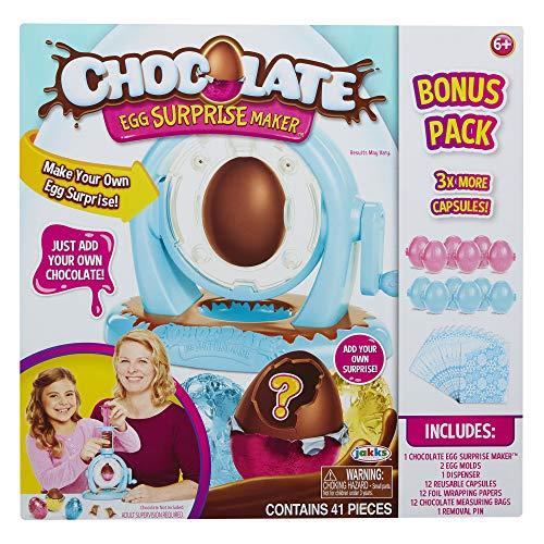 Chocolate Egg Maker with Extra Bonus Pack