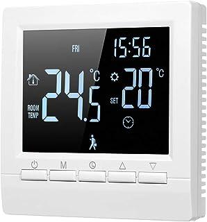 Amazon Fr Thermostat Pour Chauffage Au Sol Electrique